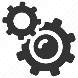 cogs, configure, gears, preferences, productivity, settings, support icon