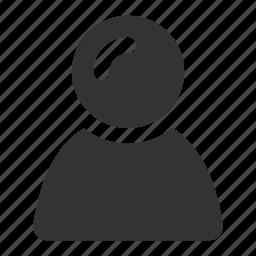 account, avatar, login, person, persona, profile, user icon