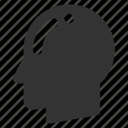 avatar, bald, head, person, persona, profile, user icon