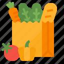 food, groceries, shop, vegetable icon