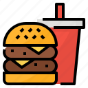 fast, food, meal, restaurant