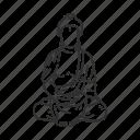 buddha, god, king, lord