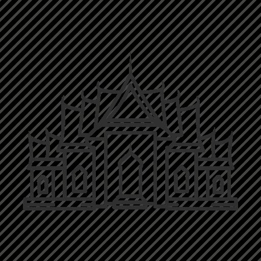 church, sanctuary, temple, worship icon