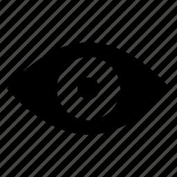 eye, sight icon