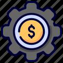 business, dollar, finance, gear, manage, money