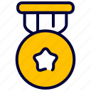 award, business, gold, medal, reward icon