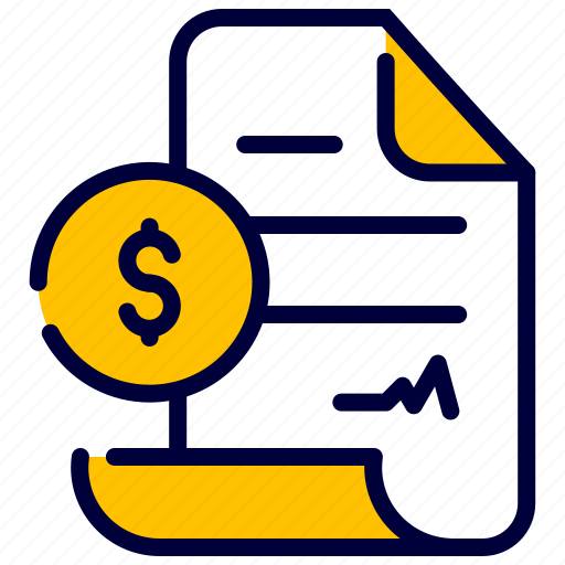 Agreement, business, contract, document, dollar, money, proposal icon - Download on Iconfinder
