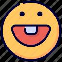 emoji, emoticon, feelings, smile, smiley, smiling icon