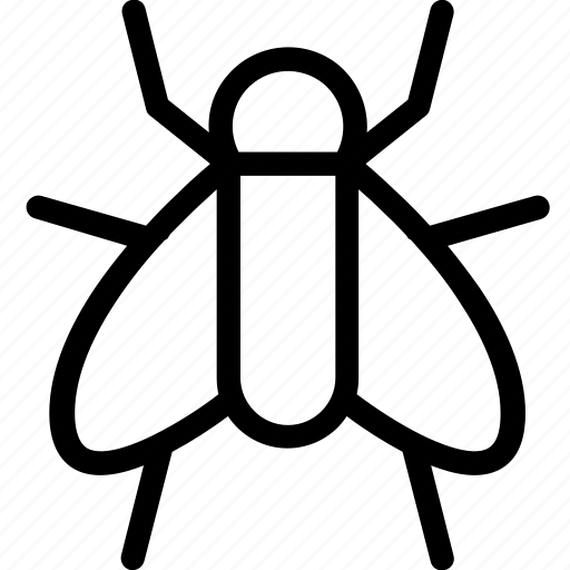 animal, bug, fly, insect, virus icon