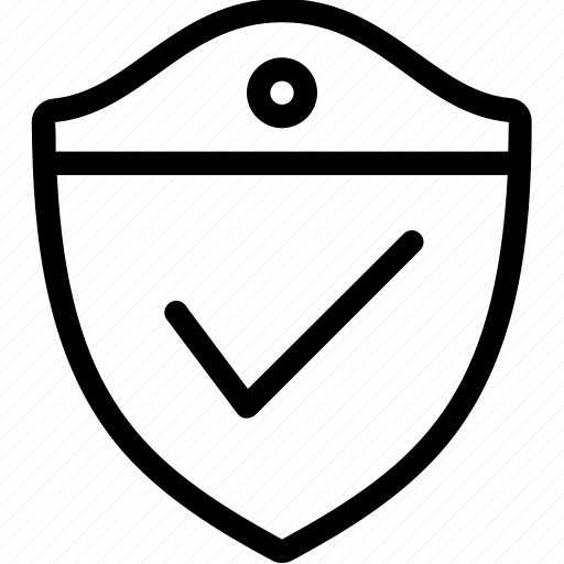 protection, secure, security, shield, tick, virus icon