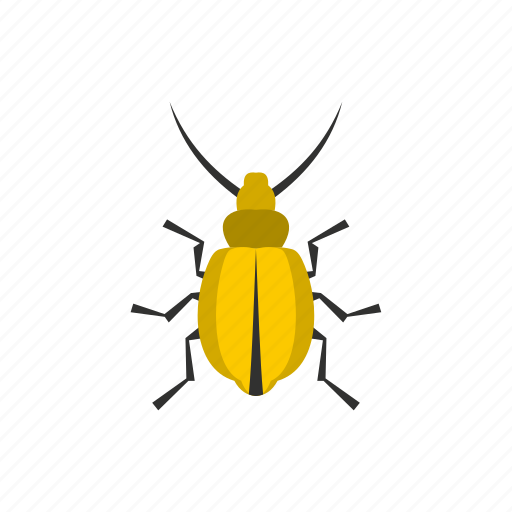 floral, flower, fly, spring, tattoo, tropical, yellow beetle icon