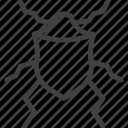 bed bug, beetle, bug icon