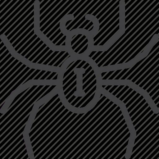 arachnid, bug, spider icon
