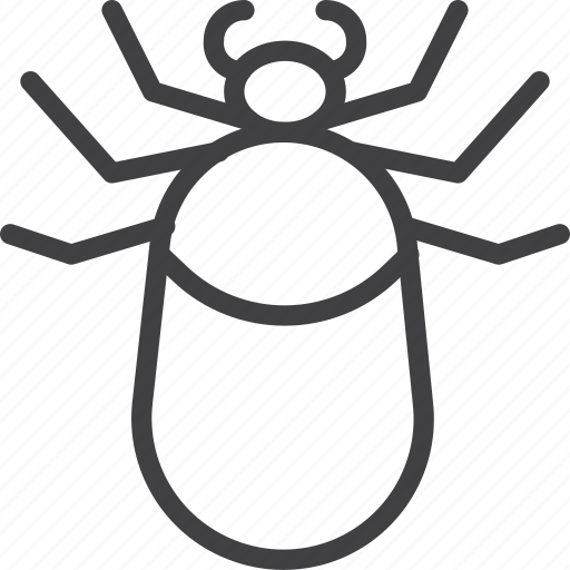 Bug, mite, tick icon - Download on Iconfinder on Iconfinder