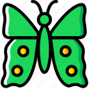 bug, butterfly, insect, nature icon