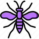 bug, insect, nature, wasp icon