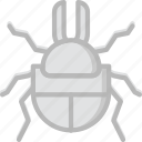 beetle, bug, dung, insect, nature icon