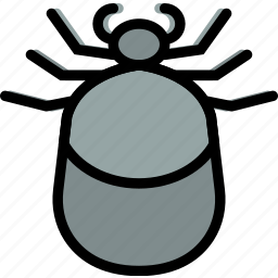 bug, insect, nature, tick icon