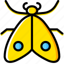 bug, insect, moth, nature icon