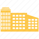 apartment, buiding, buidlings, building, city, house, office icon