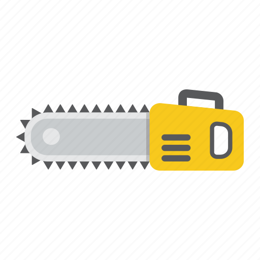 build, chain, chainsaw, electric, saw, tree, wood icon