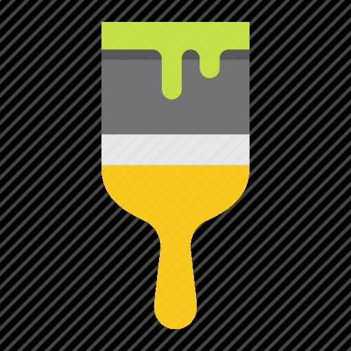 artist, brush, build, paint, painter, repair, tool icon
