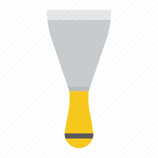 build, construction, knife, putty, repair, spatula, tool icon