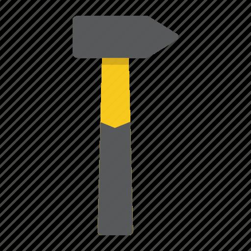 build, carpentry, construction, hammer, repair, service, tool icon