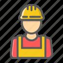 builder, constructor, engineer, helmet, person, repair, worker