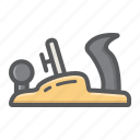 build, carpentry, construction, jack, plane, repair, wood icon