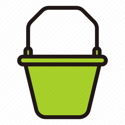 Bucket, builder, clean, construction, tools, water, work icon - Download on Iconfinder