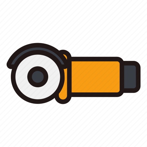 Builder, building, grinding, machine, repair, tools, work icon - Download on Iconfinder