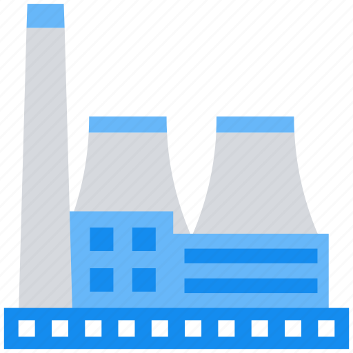 building, company, factory, industry icon