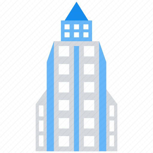 apartment, building, city, office icon