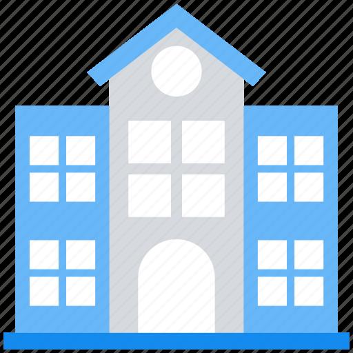 Building, college, school, university icon - Download on Iconfinder
