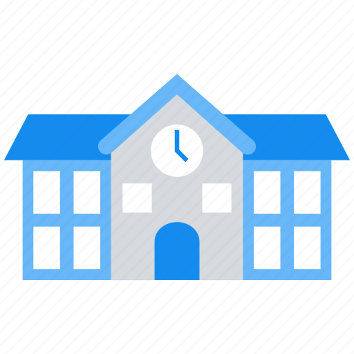 Building, college, school, university icon - Download on Iconfinder