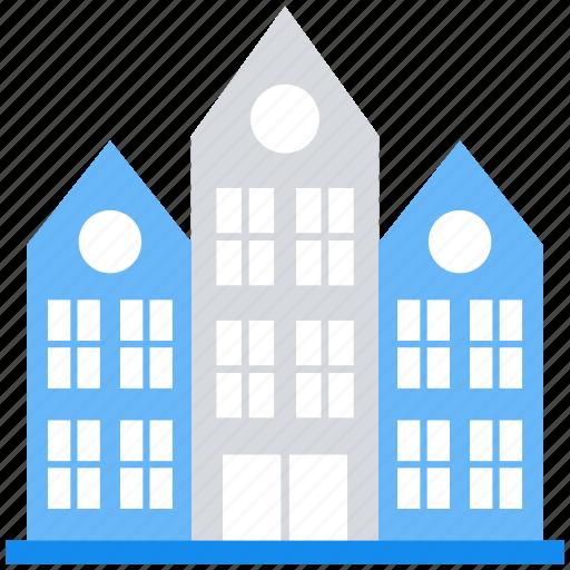 building, college, hostel, school, university icon
