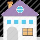 home, house, villa, family house, apartment icon