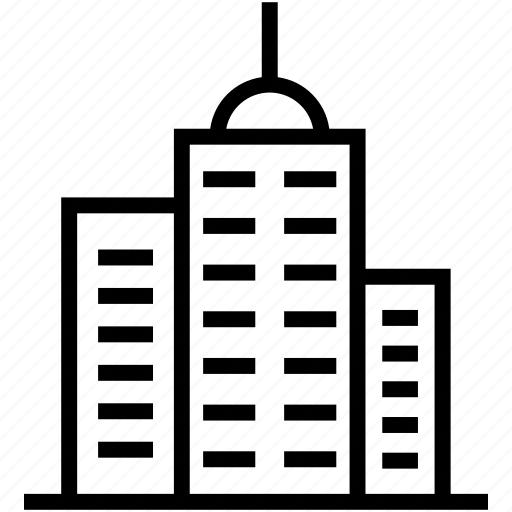 architecture, building, city, construction, infrastructure icon