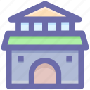 building, cottage, home, hut, shack villa icon