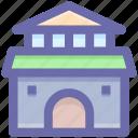 building, cottage, home, hut, shack villa