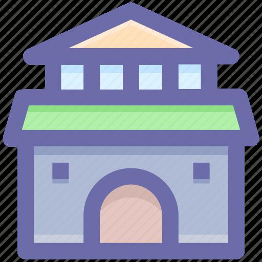 building, cottage, home, hut, shack villa icon