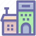 building, farmhouse, storehouse, storeroom, warehouse icon