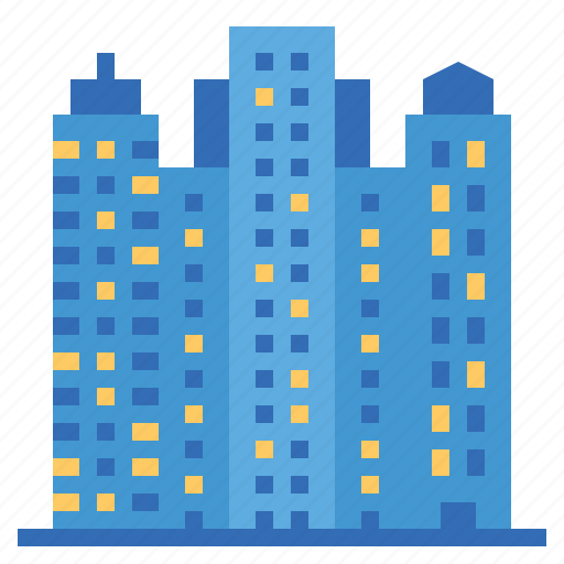 architecture, building, city, construction, skyscraper icon