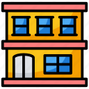commercial building, mall, marketplace, store, storefront icon