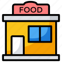 cafe, canteen, food, hotel, restaurant icon