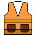 construction, jacket, labour, repair, vest