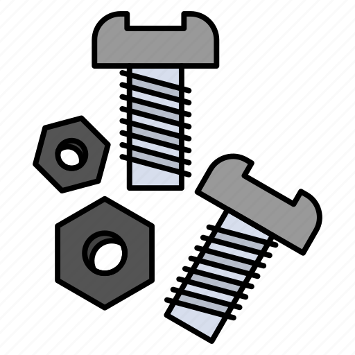 Bolt, nut, screw, tools icon - Download on Iconfinder
