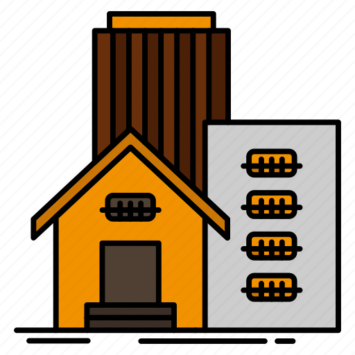 Appartment, building, estate, office, real icon - Download on Iconfinder