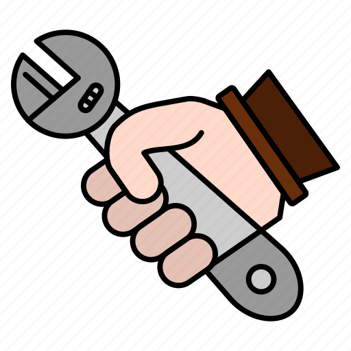 Fix, hand, repair, tools, wrench icon - Download on Iconfinder